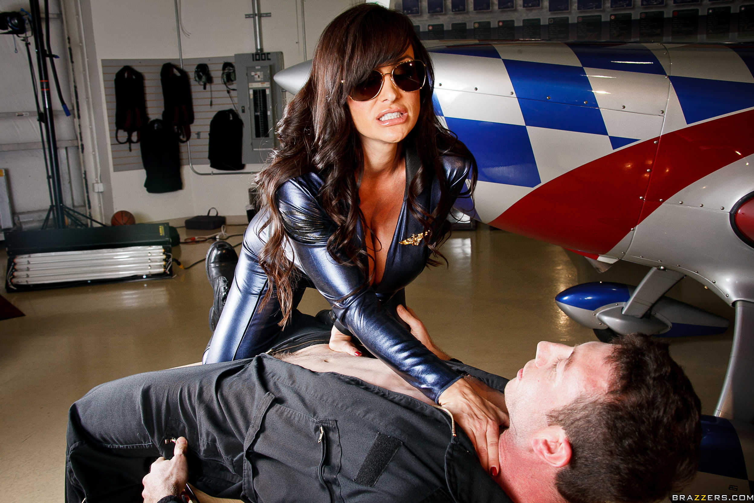 Lisa ann leather