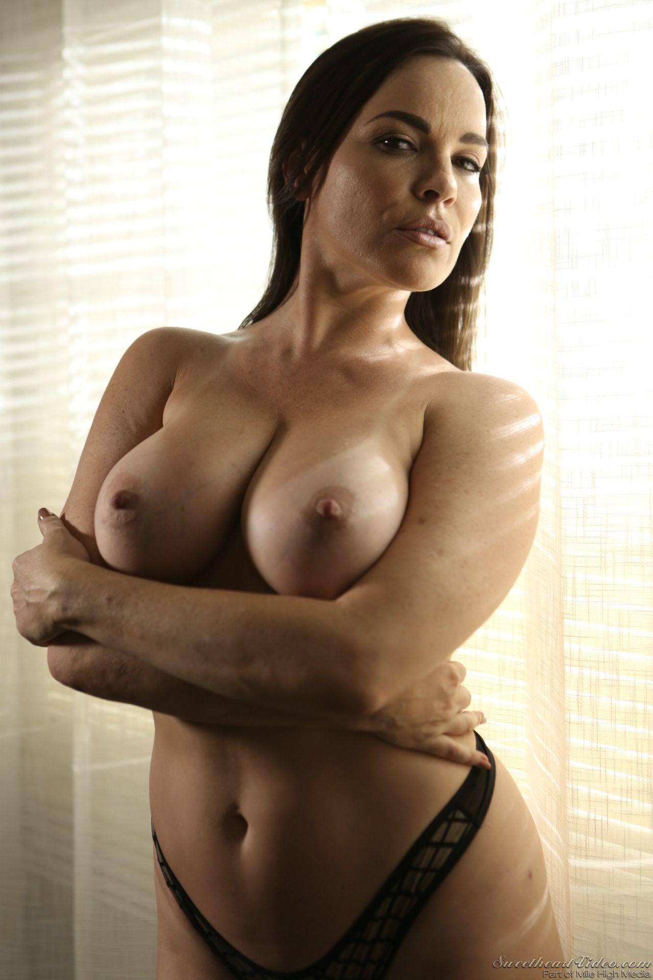 Skinny Brunette Teen Big Tits