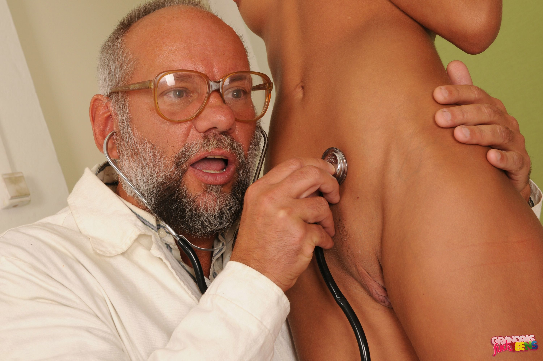 Old Man Young Girl Big Tits