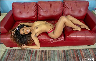 Demi Sutra getting nude and exposing her hot body