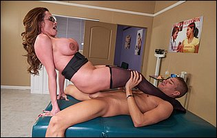 Doctor Ariella Ferrera getting a hard fuck