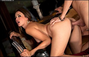 Gorgeous young brunette Allie Haze getting fucked by Xander Corvus