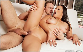 Hot beauty Adriana Luna loves big hard cock deep in her tight vagina