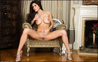 Taya Parker in sexy heels exposing her perfect tight body