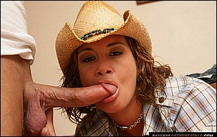 Hot cowgirl Tory Lane getting her tight asshole drilled deep