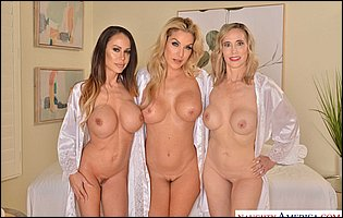 Kayla Paige, Lilly James, McKenzie Lee - Naughty America